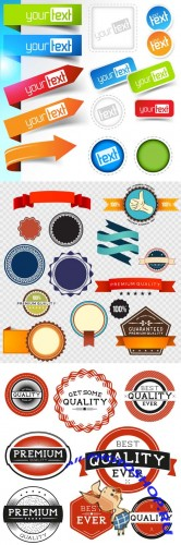 Vector Set Labels and Bages Design