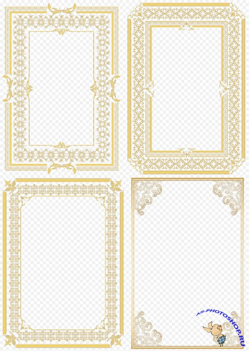 дипломы Всё для работы в photoshop Клипарт для украшения фотошоп дипломов и фото на прозрачном фоне