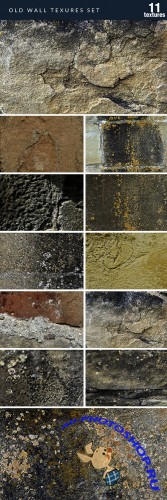 Designtnt - Old Wall Textures Set 1