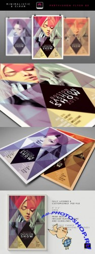 Boston Fashion Show Flyer Template 1