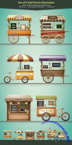 GraphicRiver - Stall Vector Illustration 5404573