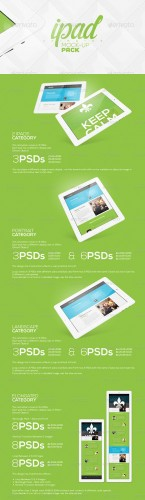 GraphicRiver - Animated iPad Mock-up Pack 5140242