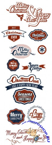 X-Mas Labels and Badges