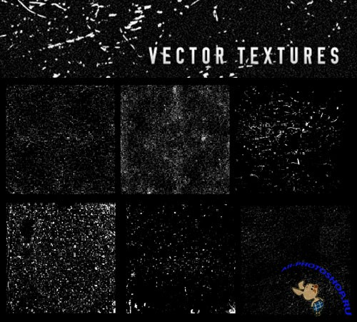 6 Scaleable Vector Textures Pack