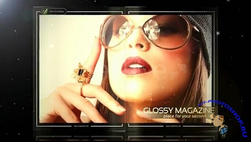 ������ ��� After Effects - Glossy Magazine HD
