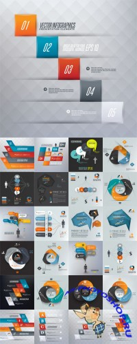 Infographics Vector Design Set