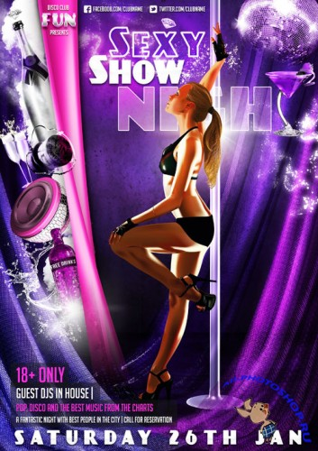 Sexy Show Flyer Template