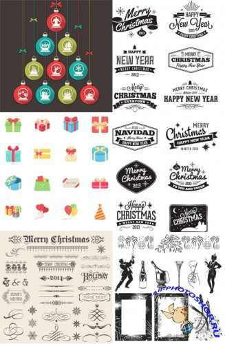 Christmas Designers Vector Pack
