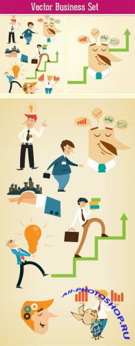 Designtnt - Business Vector Set 2