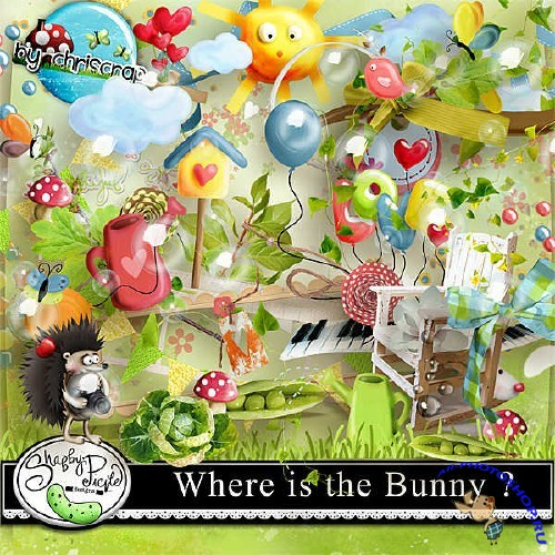 ����� ��� ������������ - Where is the bunny?