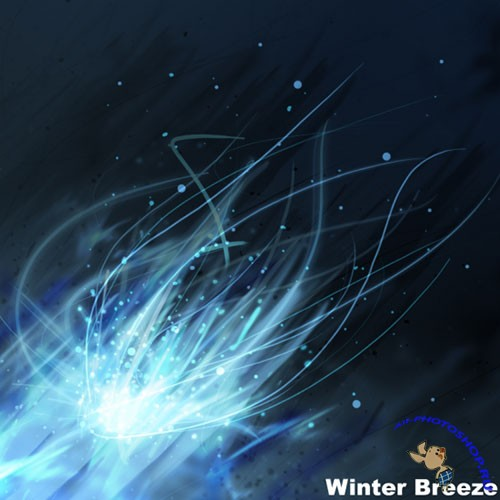 Winter Breeze ABR Photoshop Brushes
