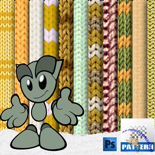 Woolens Photoshop Patterns