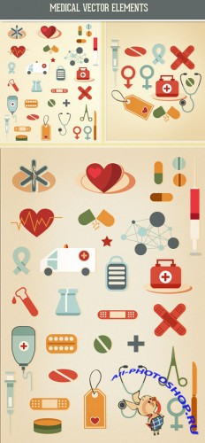 Designtnt - Medical Vector Set 2