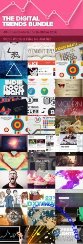 The Digital Trends Bundle 2014 from ENVATO