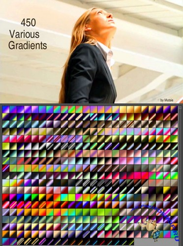 Colored Various Photoshop Gradients 4