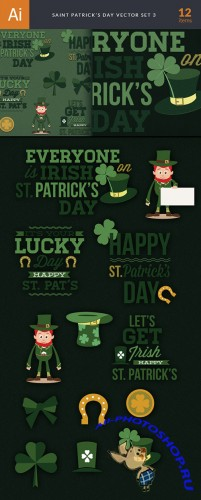 Designtnt - Saint Patricks Day Set 3