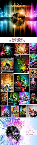 Shutterstock - Disco Covers 25xEPS