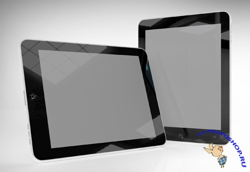 iPad 2 Responsive Screens Mock up PSD
