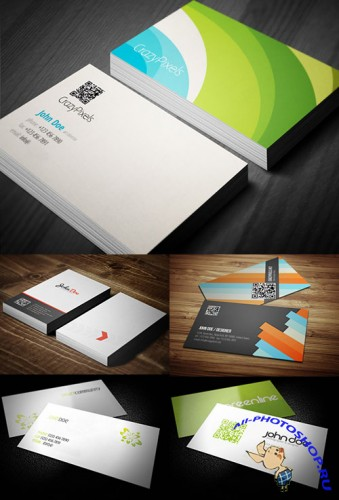 5 High Quality Business Card Designs - PSD Sources