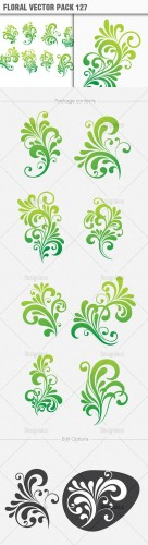 Floral Vector Pack 127