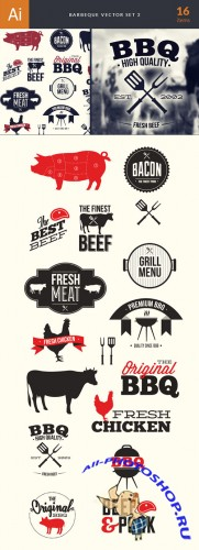 Barbeque Vector Illustrations Pack 2
