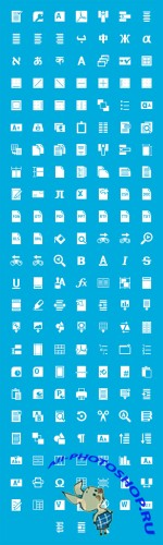 Windows 8 Icon Set PSD