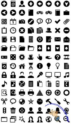 Iphone icon Set PSD