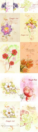 Floral Vector Illustrations Volume 2