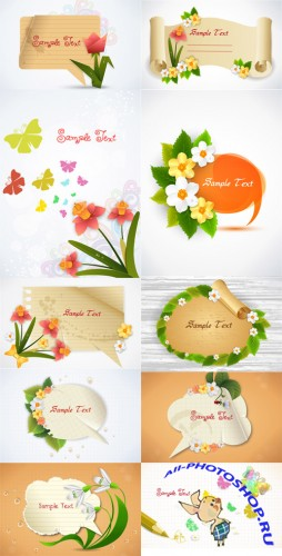 10 Spring Vector Illustrations Volume 3
