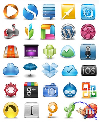 Vector Application Icons Set