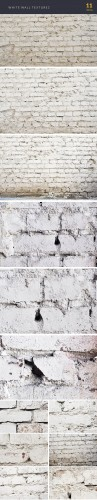 White Wall Textures Set 1