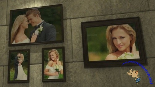 Проект VideoHive - The Wall Of Love