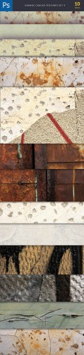 Grunge Cracks Background Textures Set 4