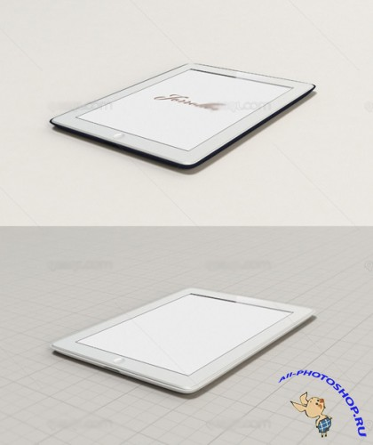 Ipad Mock Up Template Set PSD