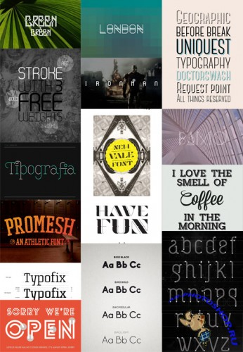 Creative Typography Fonts Pack