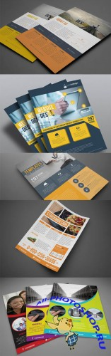 Corporate Business Flyer Templates INDD
