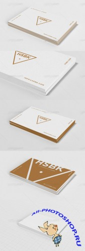 Business Card Mock Up Set 3 PSD