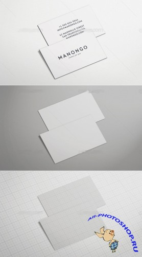 Business Card Mock Up Set 2 PSD