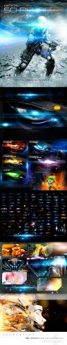 Rons Sci-Fi Optical Flares Bundle - DAZ3D Photoshop Resources