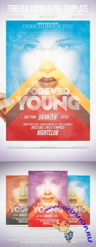 GraphicRiver - Forever Young Flyer Template