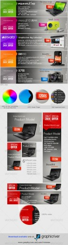 GraphicRiver - Web Marketing Banners & Advertise - PSD Templates 2772833