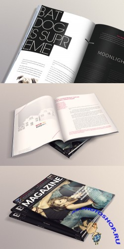 Magazine Mockup Templates Volume 3
