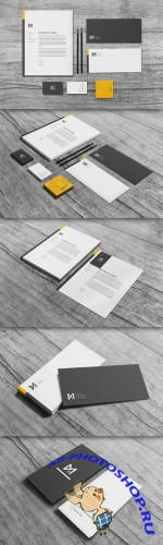 CreativeMarket - Chroma - Stationery Set