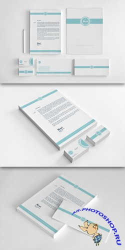 CreativeMarket - Mosai - Corporate Identity