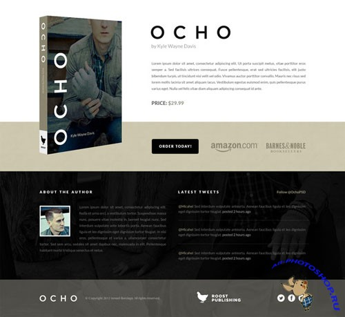 Creativemarket - Ocho the Book: Retina