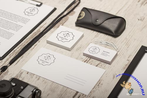 Realistic Stationery Mock up PSD