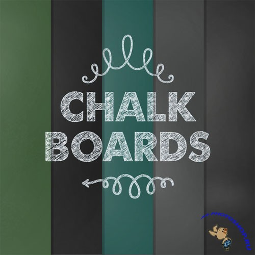 Chalkboard - Chalkboard Printable Paper Textures
