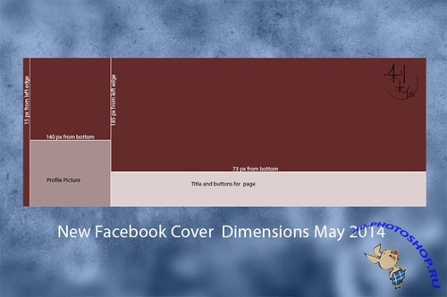 CreativeMarket - New Facebook Cover Template