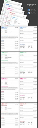 CreativeMarket - Professional Resume Template