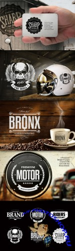 CreativeMarket - Badges & Logos Vol.03